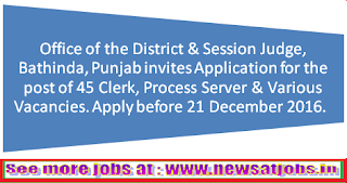 e-court-bathinda-punjab-recruitment-2017