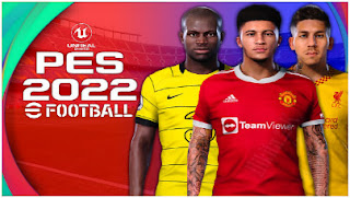Download PES 2022 PPSSPP Realistic Graphics New Update Peter Drury Commentary PS4 & Latest Transfer