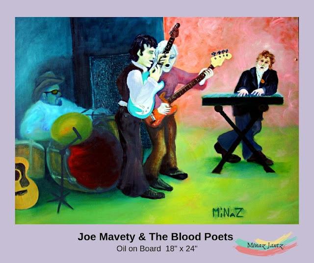 Joe Mavety & The Blood Poets by Minaz Jantz