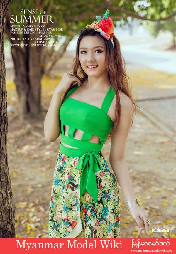 Fashion Image Magazine Myanmar