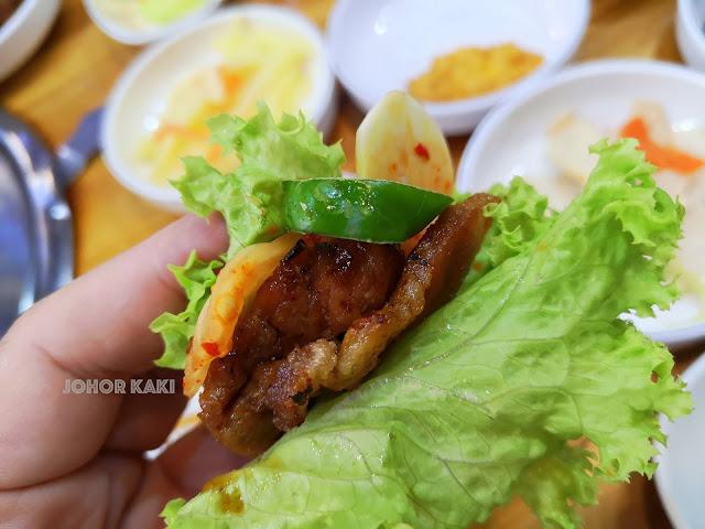Hong Dae Korean BBQ @ Permas Jaya in Johor Bahru