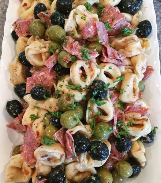 Tortellini Olive Salad
