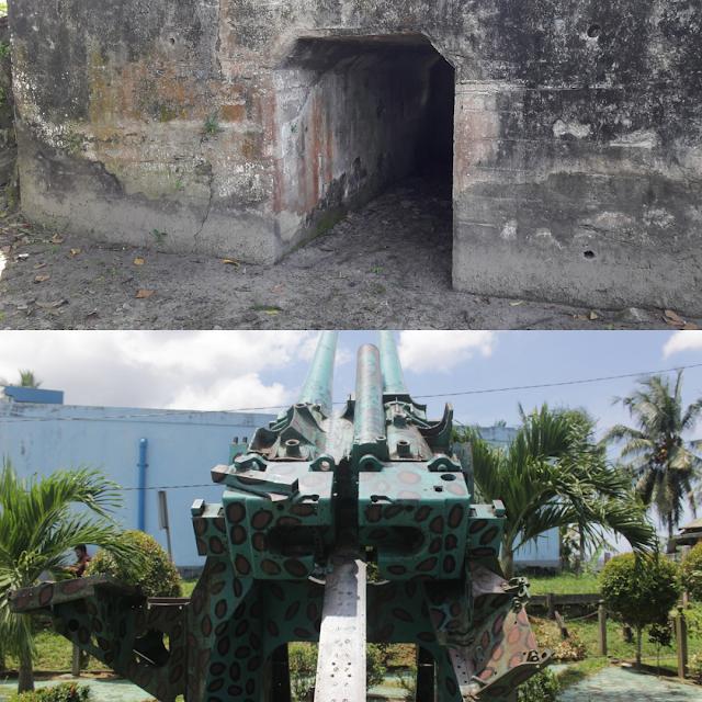 Bunker dan Meriam Peninggalan Jepang di Balikpapan