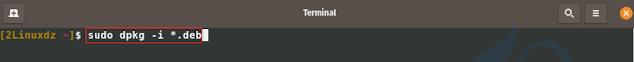 تثبيت الإصدار الجديد من LibreOffice