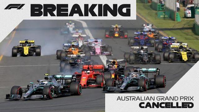Formula 1 di Australia Resmi Dibatalkan, Bagaimana dengan Negara Lain?