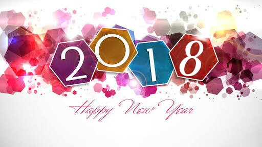 Happy New Year Image 2018