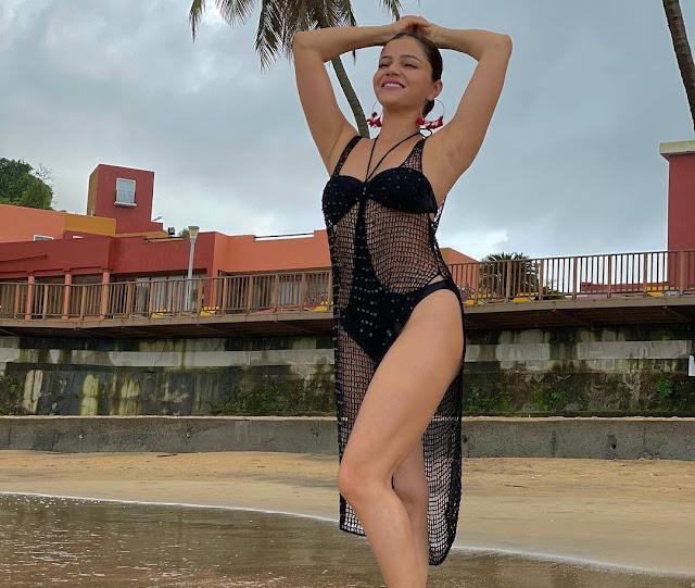 Rubina Dilaik flaunts jaw-dropping figure in sizzling hot bikini avatar