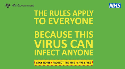 Everyone can be infected UK government advice