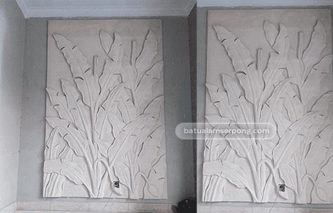 relief batu alam