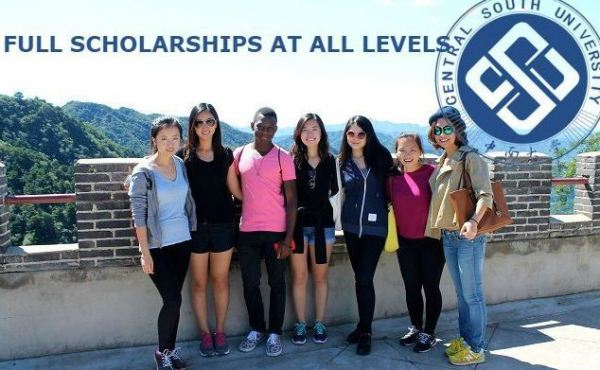 Fully Funded Scholarship in China at Central South University for International Students