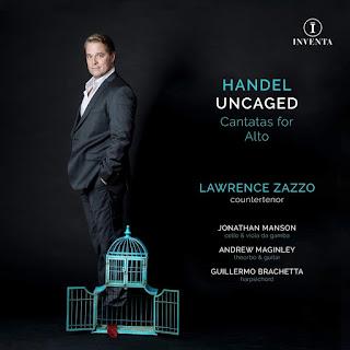 Handel: Udite il mio consiglo, Stanco di piu soffrire, Figli del mesto cor, Amore uccellatore Lawrence Zazzo (counter-tenor), Jonathan Manson (cello & viola da gamba), Andrew Maginley (theorbo & guitar), Guillermo Brachetta (harpsichord) INVENTA