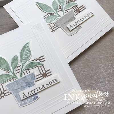 Weekly Digest #33   Week Ending September 11, 2021   Nature's INKspirations by Angie McKenzie for the Crafty Collaborations Technique Tuesday Blog Hop; Click READ or VISIT to go to my blog for details! Featuring the Stampin' Up! Plentiful Plants Bundle with the Kraft Paper Lattice from the 2021-2022 Annual Catalog; #justanotecard #stamping #papercrafting #techniquetuesday #techniquetuesdaybloghop #plentifulplants #perfectplants #paperlattice #scoring #scoredborders  #2021annualcatalog #cardtechniques #stampinup #diy #handmadecard #naturesinkspirations #makingotherssmileonecreationatatime