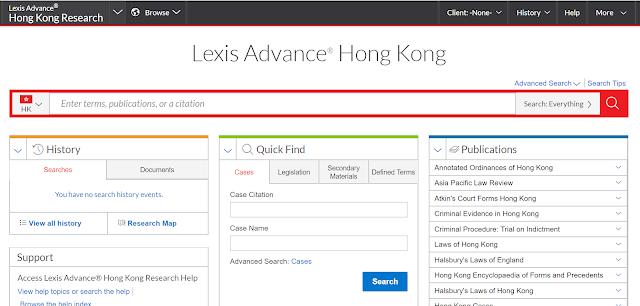 Lexis Advance Hong Kong