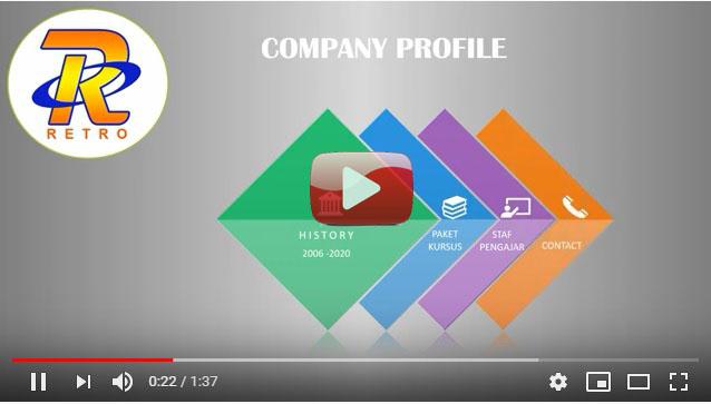 Video Company Profile Retro 2020