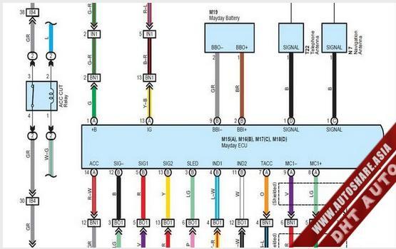 LEXUS GX470 2009 WIRING DIAGRAM | Toyota Workshop Manual