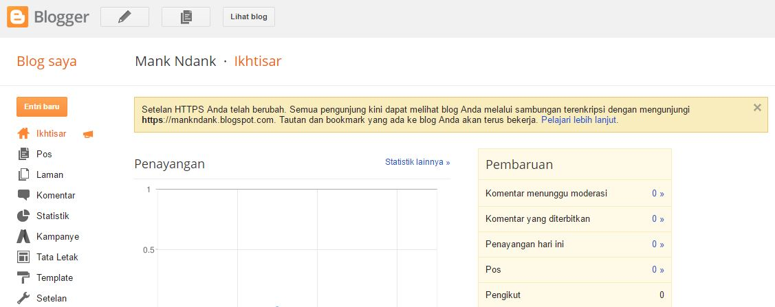 Panduan Lengkap Membuat dan Menggunakan Blog di Blogspot