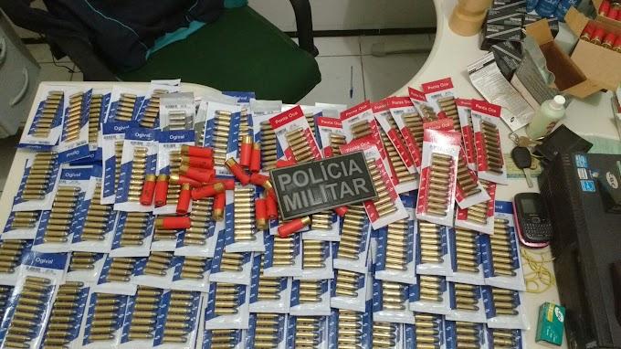 Homem é preso por porte ilegal de munições em Limoeiro do Norte