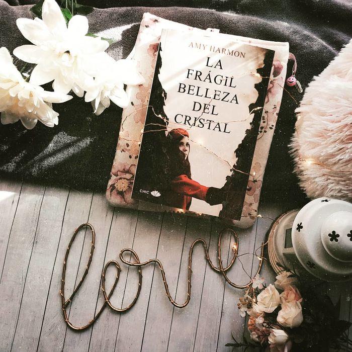 Foto del libro La fragil belleza del cristal de la autora Amy Harmon