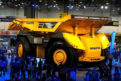 Automatización laboral: Camiones sin conductores y una mina controlada remotamente
