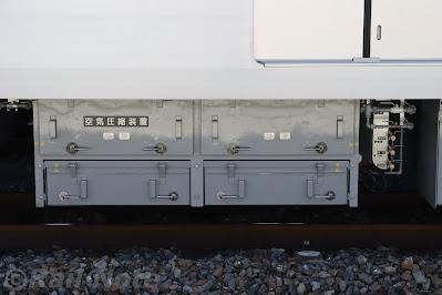 東京メトロ17000系コンプレッサー