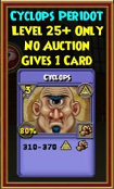 Cyclops - Wizard101 Card-Giving Jewel Guide
