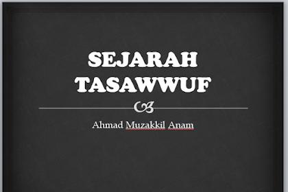 Sejarah Tasawwuf