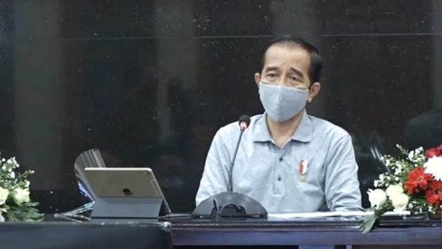 Jokowi Sebut Satu Provinsi di Jawa yang 70 Persen Masyarakatnya Belum Pakai Masker