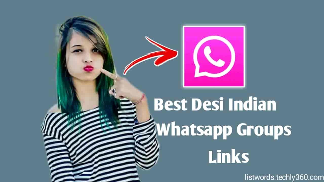 1000+ Desi Indian Girls Whatsapp Groups Links