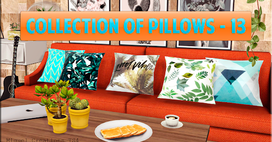 Collection of Pillows - 13