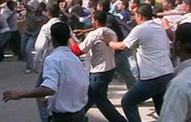 مشاجرة بين سائقى توكتوك نتج عنها اصابة 4 اشخاص في طهطا بسوهاج