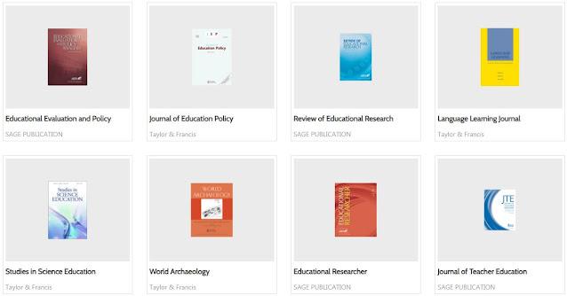 Jurnal internasional yang dilanggan perpustakaan dikbud
