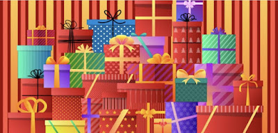 Figure: How many presents can you see in this picture?