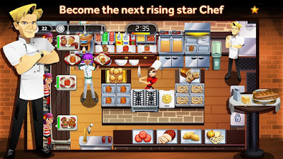 Download Game Gordon Ramsay Dash v1.10.2 Mod Apk ( Unlimited Coins, Supplies, Golds, Arena Tokens​ ) Terbaru
