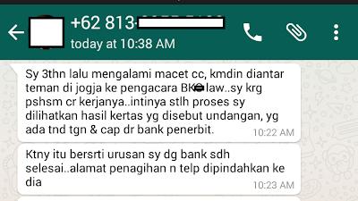 Modus Handle Debt Collector BKx Law
