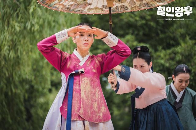 Karakter Kim So Yong (Queen Cheorin) - Shin Hye-sun