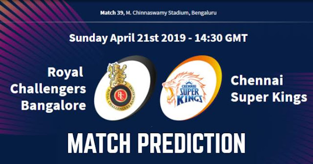 VIVO IPL 2019 Match 39 RCB vs CSK Match Prediction, Probable Playing XI: Who Will Win?