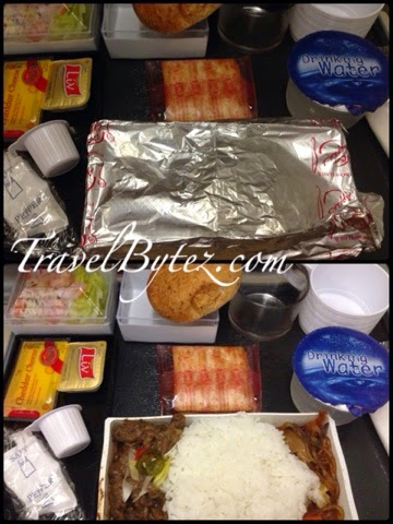 Singapore Airlines Korean Meal Beef Bulgogi