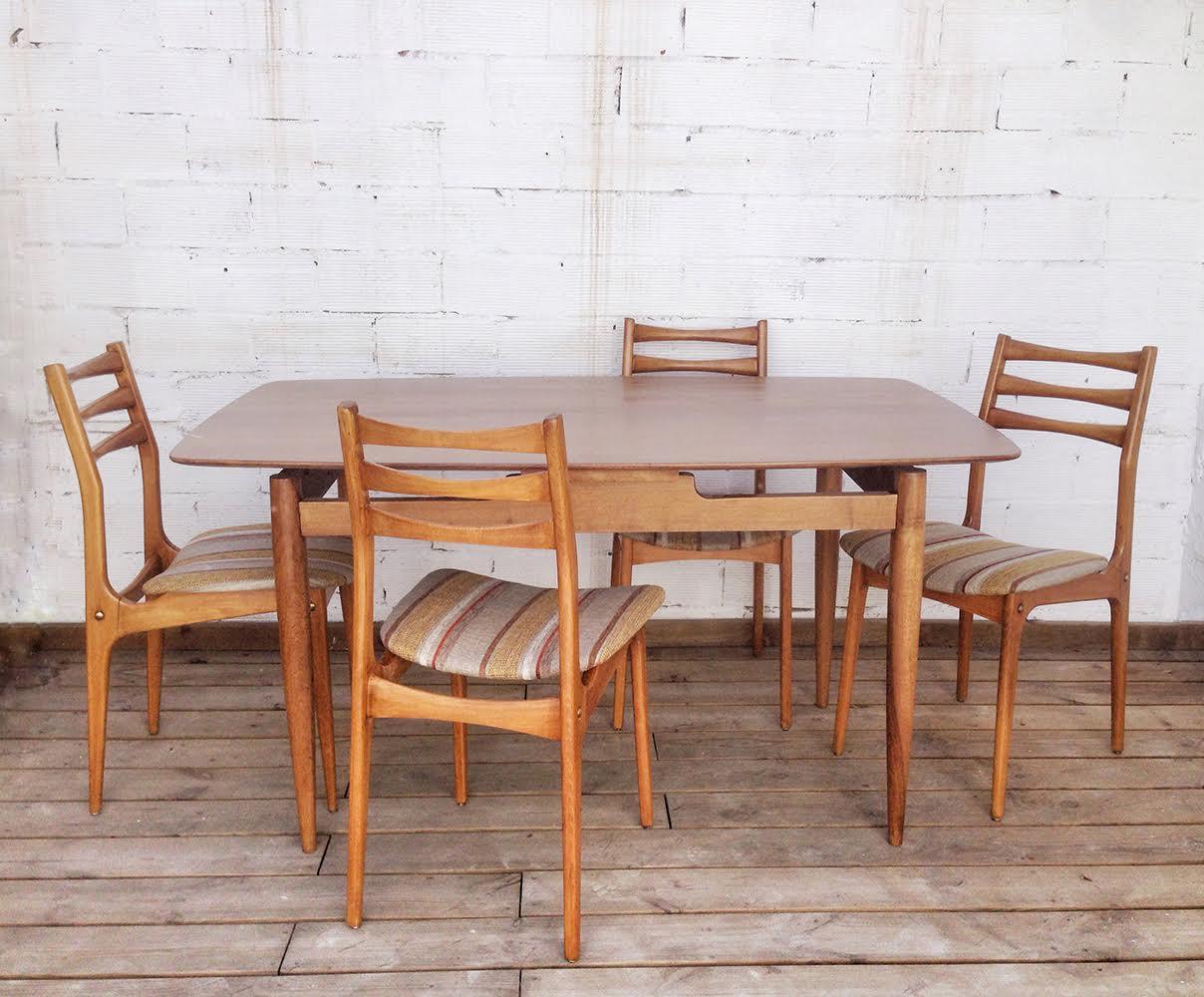 Comedor - muebles restaurados- Studio Alis