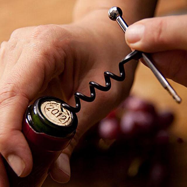 Tirbuson EDC pliabil breloc wine opener