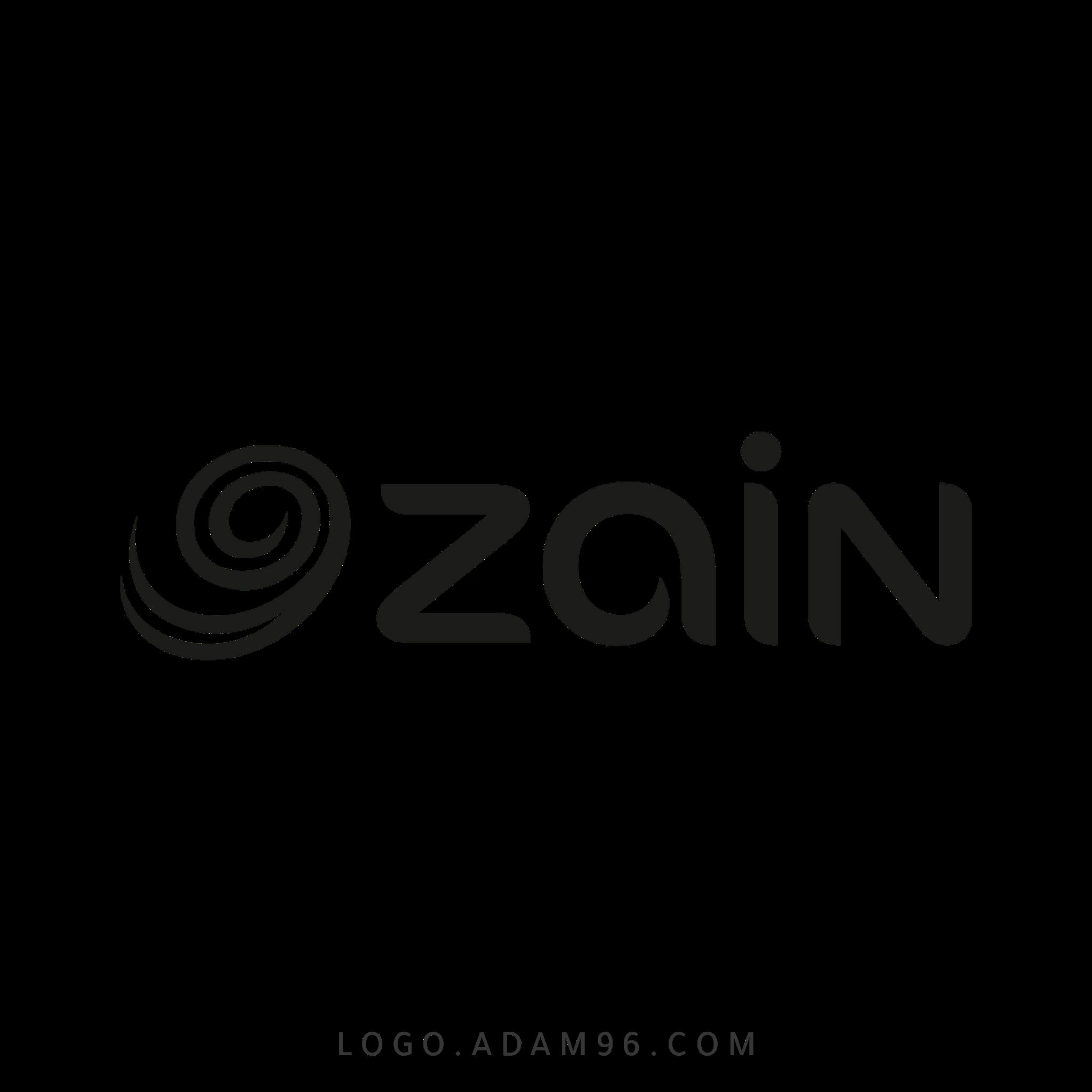 تحميل شعار شركة زين لوجو شفاف بجودة عالية Logo Zine PNG