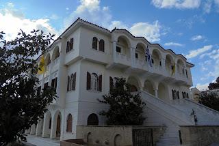 το Μητροπολιτικό Μέγαρο στην Καλαμάτα