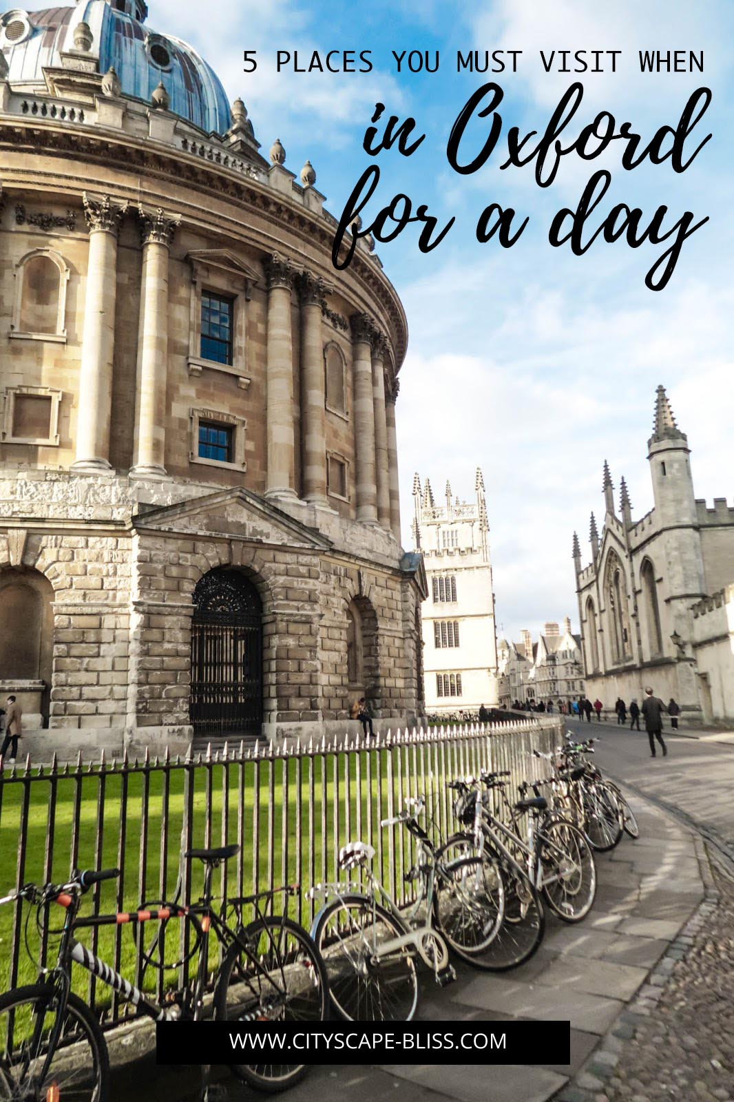 5 places you must visit when in Oxford for a day
