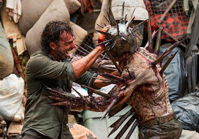 Rick Grimes (Andrew Lincoln) nell'episodio 10