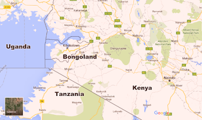 google map bongo land