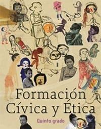 Libro de texto  Formación Cívica y Ética Quinto grado 2020-2021