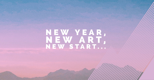 new years resolutions for artists, art tips, practical advice for artists,