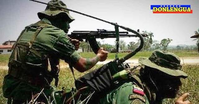 Dos militares venezolanos encontrados en varios pedacitos tras la batalla de Apure