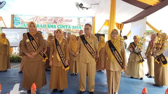 Penyerahan-Penghargaan-SMS-Cinta-Sekolah-Banjar-kepada-12-Sekolah-di-Kota-Banjar