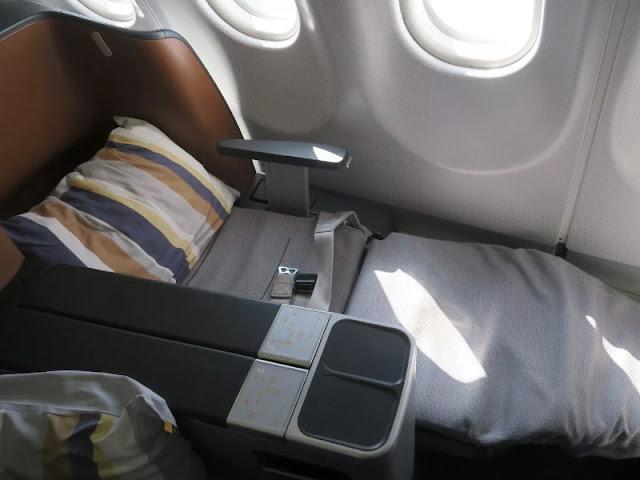 Berbagi Cerita Naik Pesawat Lufthansa Kelas Bisnis Frankfurt Ke Atlanta