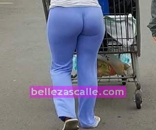 Chava nalgona pants metido